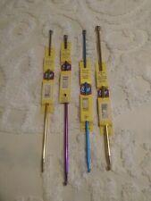 4 Size Afghan Hooks Knitting Needles,/ New / Boye