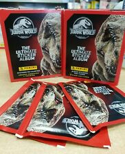 Panini Jurassic World Ultimate Stickers Collection: Choose 10 25 50 packs or Box