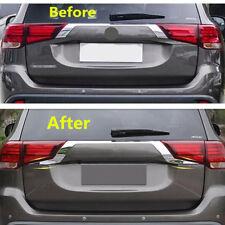 Rear Door Trunk Lid Cover Trim 2PCS For Mitsubishi Outlander 2016 2017 2018