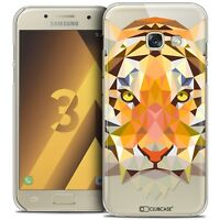 Coque Housse Etui Pour Samsung Galaxy A3 2017 (A320) Polygon Animal Rigide Fin T