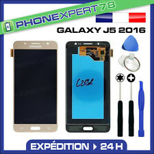 VITRE TACTILE + ECRAN LCD ORIGINAL SAMSUNG GALAXY J5 OR GOLD 2016 + OUTILS
