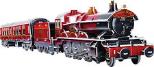 201 PIECE 3D OLTON HALL HARRY POTTER STEAM TRAIN MODEL JIGSAW CONSTRUCTION TOY