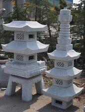 8' Pagoda Japanese  Carved Granite Garden Lantern Stone lantern