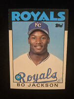 Bo Jackson 1986 Topps Traded Rookie Card - #50T - Kansas City Royals
