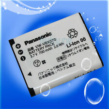 Genuine Panasonic VW-VBX070 camcorder battery HX-WA10, HX-DC10, HX-DC15 HX-DC1