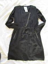 Biba Vestito Elegante Serie Nero Gr.36 UK10 Nuovo 0ee64230d532
