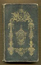 UNE PREMIERE ANNEE DANS LE MONDE by M. L'Abbe Th. B*** - 1848 1st US Ed - French
