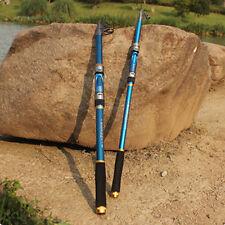 Professional Carbon Fiber Fishing Rod Travel Pole 2.1m-Saltwater Freshwater Nice
