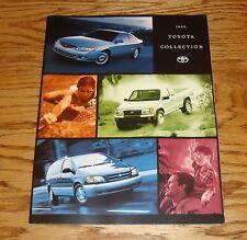 Original 1999 Toyota Car & Truck Full Line Sales Brochure 99 Land Cruiser Celica