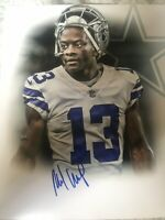 MICHAEL GALLUP SIGNED DALLAS COWBOYS 8x10 Photo AUTographed Gdst Holo E
