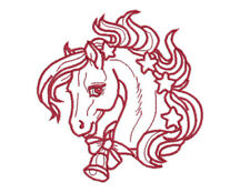 CHRISTMAS HORSES - 20 MACHINE EMBROIDERY DESIGNS