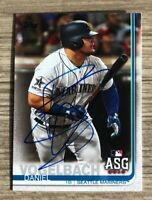 Daniel Vogelbach Signed 2019 Topps Update Series Autographed Card Auto Mariners