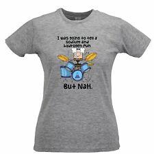 Novelty Nerd Womens TShirt I Was Going To Tell A Pun But NaH Geek Science Joke