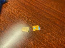 Used At&T Micro Sim Card (Not for service, For phone activation only)