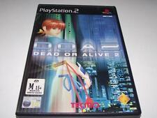 Dead or Alive 2 DOA2 PS2 PAL Preloved *Complete*