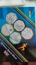 More details for full set of 2011 olympic 50p coins in excellent circulated condition.