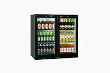 COLD900H Double Hinged Back Bar Chiller