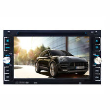 "Car Stereo Radio DVD Player CD 6.2"" Touch Screen BT 2DIN + Rear Rear Camera"
