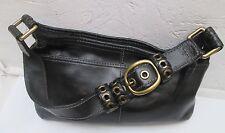 AUTHENTIQUE  sac à main   COACH  cuir   TBEG vintage bag /