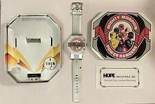 1994 Saban Pink Mighty Morphin Power Rangers Talking Watch Kimberly NIB Tested