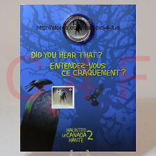 2015 - Haunted Canada #2 - Brakeman 25-cent Lenticular Coin & Stamp Gift Set
