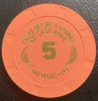 5 NCV Casino Chip - Palms Resort & Casino - Las Vegas NV Paulson H&C