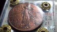 Regno d'Italia 10 Centesimi 1911 V.E.III Cinquantenario. periziata monetaio qfdc