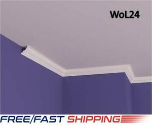 5x5cm XPS Polystyrene Lightweight Coving Cornice Finest Quality Nextday Delivery