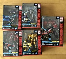 Transformers Studio Series Bumblebee Movie Lot. 1 New, 3 Used. Optimus Prime.