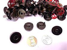 20 Juegos De Broches Broches Sujetador Magnético De Metal de arma para bolsas, Craft, botones de costura