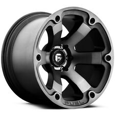 "Fuel Offroad D564 Beast 20x10 5x139.7/5x5.5"" -18mm Black/Machined Wheel Rim"