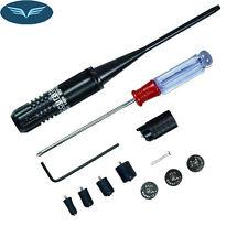 for .22 to .50 Caliber Scope Gun Handgun Red Laser Bore Sight Kit Boresighter FL