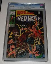 Marvel Spotlight # 1...CGC Universal slab 9.0  NM- grade--bf...1971 Red Wolf