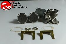 Ignition Switch Door Locks Key Set Chevelle El Camino Monte Carlo GTO Cadillac