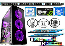 PC Ordenador Gamer Core i7 8700 X6 a 4.6Ghz 8GB Ram 1tb +SSD 120G GTX1050ti 4GB