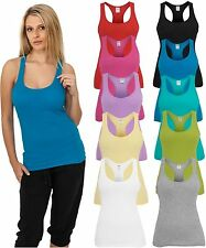 URBAN CLASSICS LADIES TANK TOP  Damen Lady Loose Shirt T-Shirt 10 Farben XS - XL