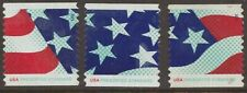 Scott #4961-63 Used Set of 3, Stars and Stripes