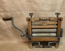 Antique 1800's Hand Crank Clothes Wringer - Farmhouse Decor!
