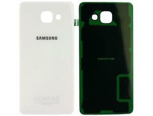 SCOCCA posteriore per Samsung Galaxy A5 2016 A510 bianco back cover copri batter