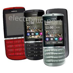 Nokia Asha 300 Unlocked 5MP Tocuh & Type 3G Hebrew English Arabic Russian Phone