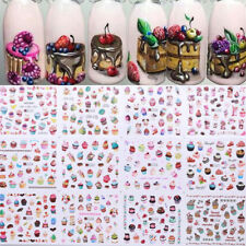 Summer Ice Creams Fruit Nail Art Water Decals Manicure Transfer Stickers Decor