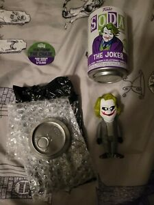 Funko Soda The Joker Chase 1/3000 rare grey suit bank robber limited edition
