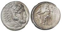 "Kings of Macedon, AR Tetradrachm, Alexander III ""The Great"", Hercules rv Zeus"