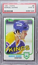 Marcel Dionne 1981 Topps #9 PSA 9 *NorthernRoute*