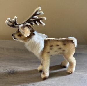 Vintage Steiff Renny Reindeer With Paper Tag Ca 60's