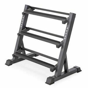 Home Workout -  Dumbbell Rack Storage Stand (3 Tier)