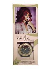 Reb' L Fleur by Rihanna Womens Fashion Chrystal Watch