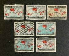 Canada Stamps #85-86 Used