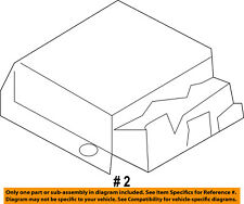 FORD OEM Airbag Air Bag-RCM SDM ACM Restraint Control Module BC3Z14B321M