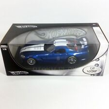 Viper GTSR Metallic Blue Hot Wheels 1:18 Scale Rare Release from 2005 Brand New